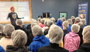 Volunteers at Feed My Starving Children