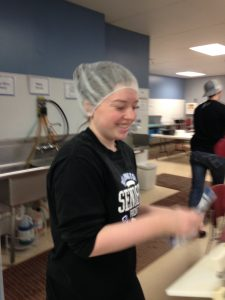 Student Volunteer at Feed My Starving Children