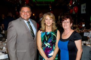 Dr. Todd Stirn, Sue Zagorski and Cathy Mullahy