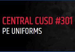 Central CUSD #301 PE Uniforms