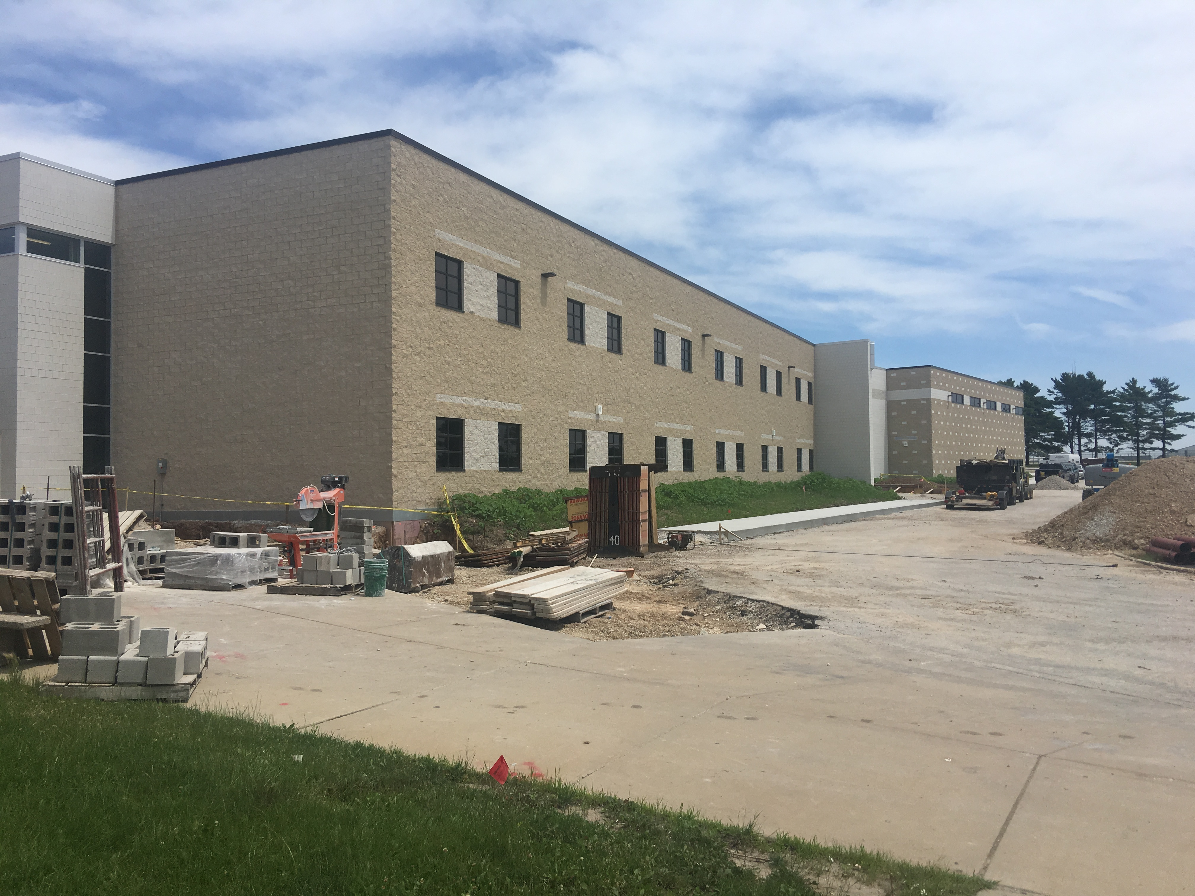 New construction - South side of CHS