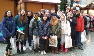 Students at German Market
